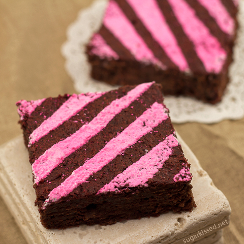 Fun and Fudgey! Decorated Brownies