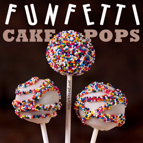 How To Make Funfetti Cake Pops