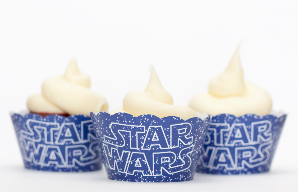 Star Wars Cupcake Wraps