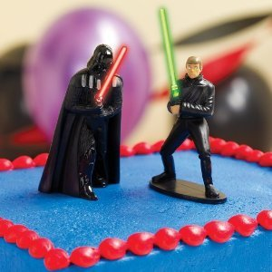 Star Wars Light Up Cake Toppers