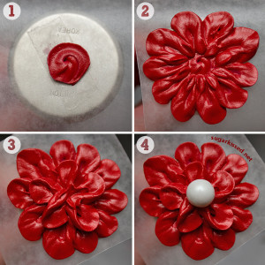 Easy, Stunning, Dimensional Icing Flowers (Design #2 of 3)