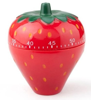 Strawberry Kitchen Timer