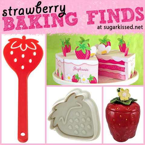15 Fun Strawberry-Themed Baking Finds