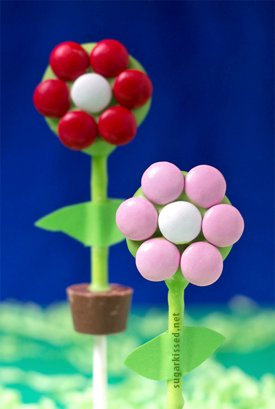How To Make Flower Pot Cake Pops