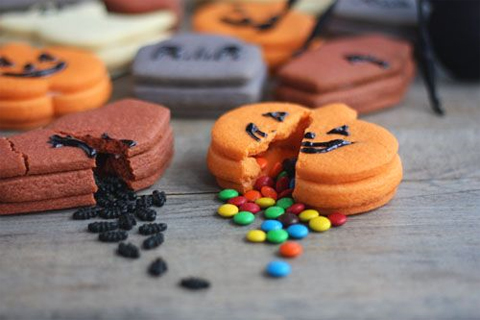 Halloween Trick-or-Treat Surprise Inside Cookies
