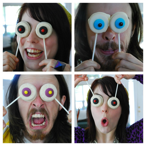 Halloween Eyeball Cookie Pops