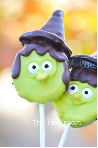 Halloween Witch Oreo Pops