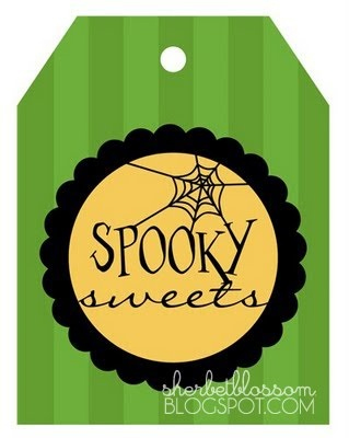 Free Halloween Printable - Treat Tags