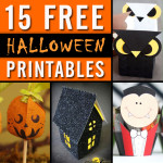 15 Free Halloween Printables for Packaging Your Treats