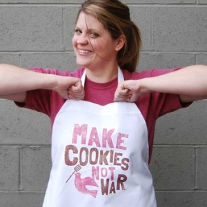 Make Cookies Not War Apron