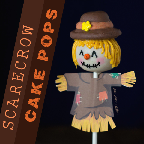 Scarecrow Thanksgiving Pops