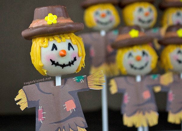 Yellow Hat Cake Pops