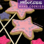 Princess Wand Cookies