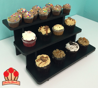Collapsible 3-Tier Cupcake Stand 2