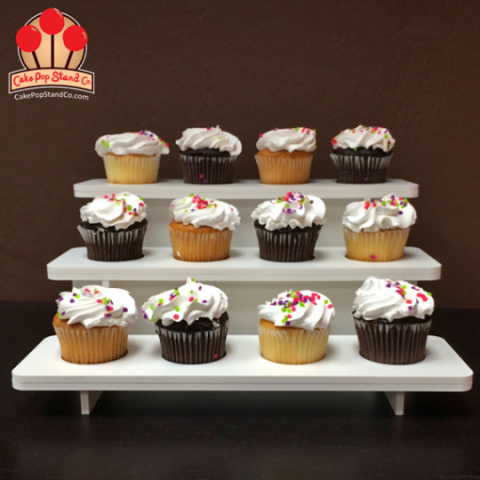 Collapsible 3-Tier Cupcake Stand