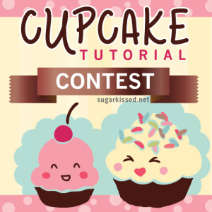 Enter the cupcake tutorial contest on sugarkissed.net to win a collapsible 3-tier cupcake stand!