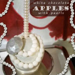 How To Make White Chocolate Covered Apples with Pearls
