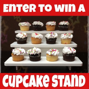 Enter to Win a Cupcake Stand