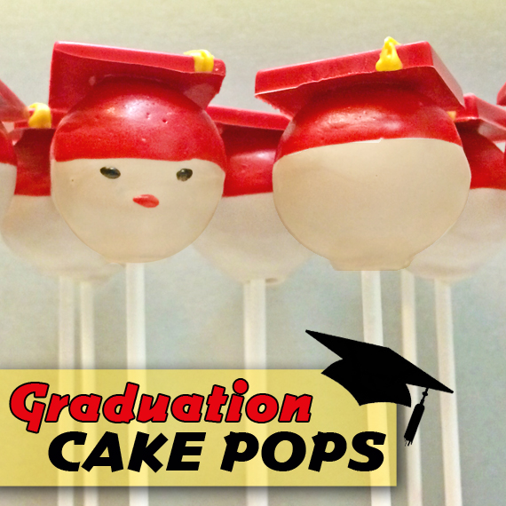 How To Make Graduation Hat Cake Pops - A Step-By-Step Tutorial
