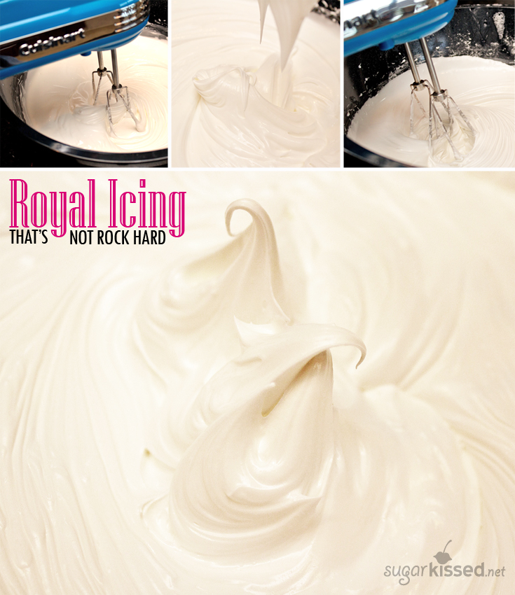 Royal Icing That Doesn't Dry Rock Hard