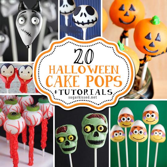 20 Halloween Cake Pops