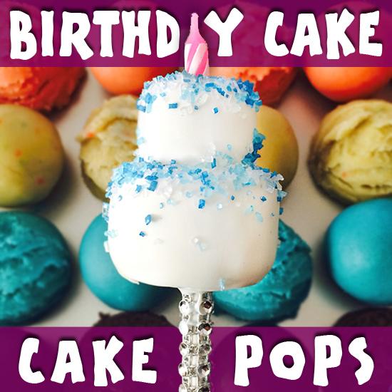 Daphne Made Her Own Birthday Cake Too: How To Make Birthday Cake Cake Pops