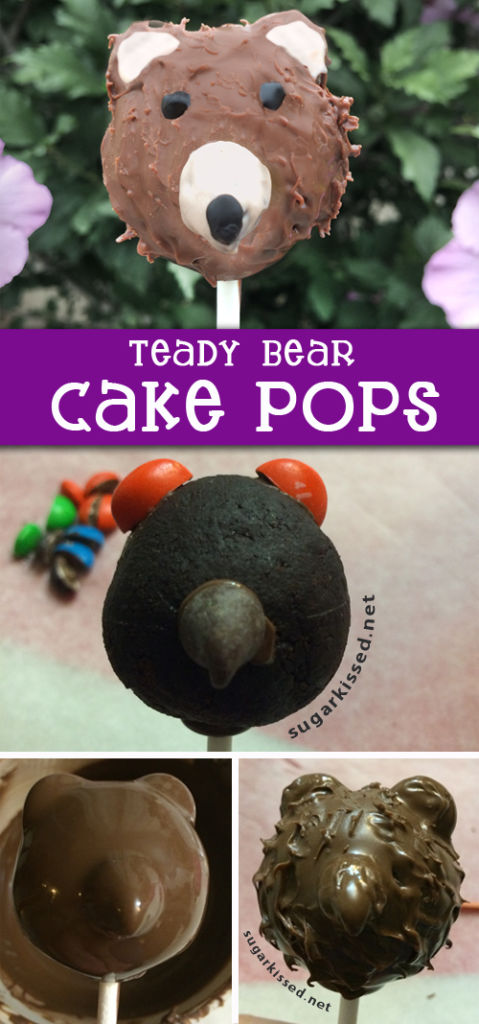 How To Make Teddy Bear Cake Pops